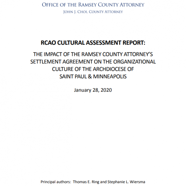 Ramsey County Attorney's Office Cultural Assessment Report