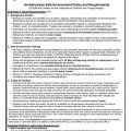 Archdiocesan Safe Environment Policy and Requirements