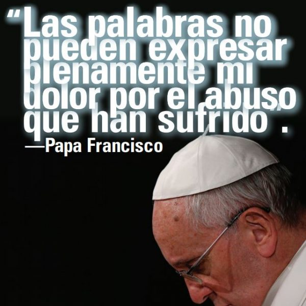 Pope Francis Social Media Image - Protecting Children and Youth (Spanish)