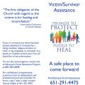 Victim/Survivor Assistance (Healing) Brochure – English (for black and white printing)