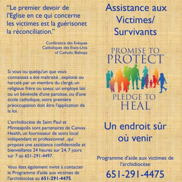 Victim/Survivor Assistance (Healing) Brochure – French (for color printing)