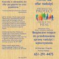 Victim/Survivor Assistance (Healing) Brochure – Polish (for color printing)